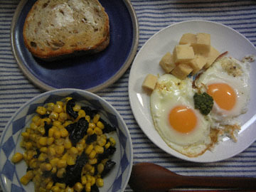 blog CP1 Dinner, Corn with Nori, Toast, Egg & Cheese_DSCN7554-1.6.18.jpg
