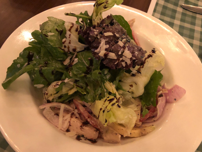 Grilled Chicken Rocket Salad