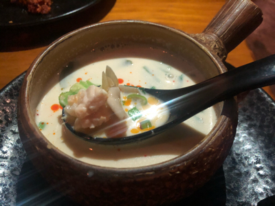 Tom Kha + Seafood