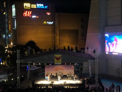 モールの催事(コンサート?)