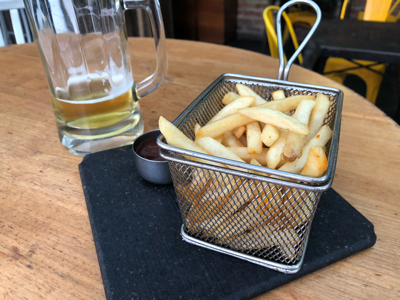 Budweiser Draught & French Fries