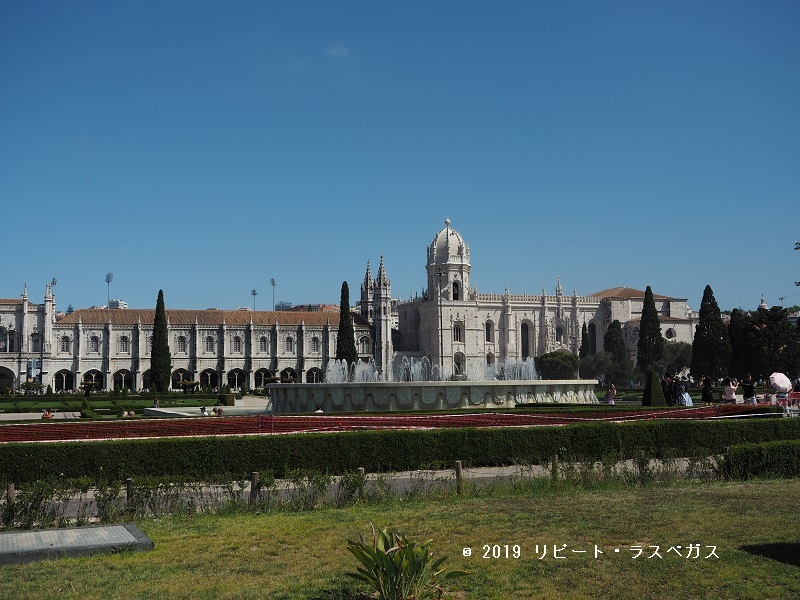 ポルトガルの象徴「ジェロニモス修道院」 , 19/07ポルトガル