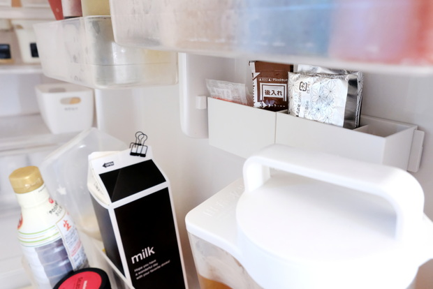 無印・マグネットバー・ポリプロピレンファイルボックス用・仕切付ポケット・冷蔵庫・ドアポケット③