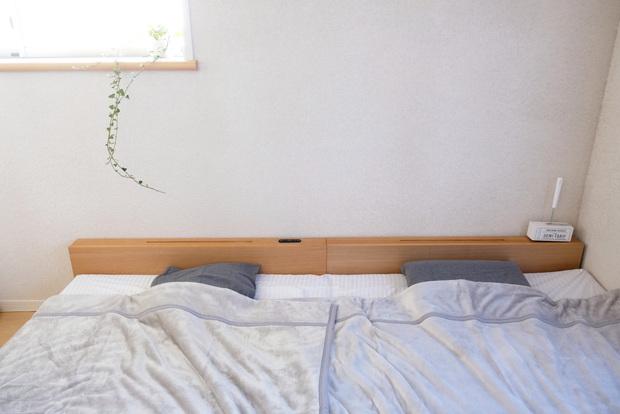 プレミアムマイクロファイバー毛布【gran】グラン・無印・綿フランネルまくらカバー/杢グレー 43×63cm用・寝室・ベッド①
