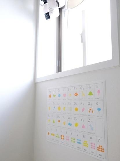 キャンドゥ・バスポスター・アルファベット・浴室②