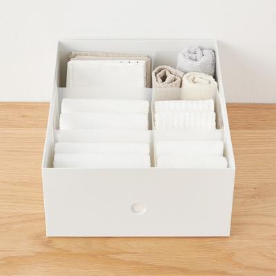 ポリプロピレンシート仕切りボックス・3枚組 幅10cm・15cm用①