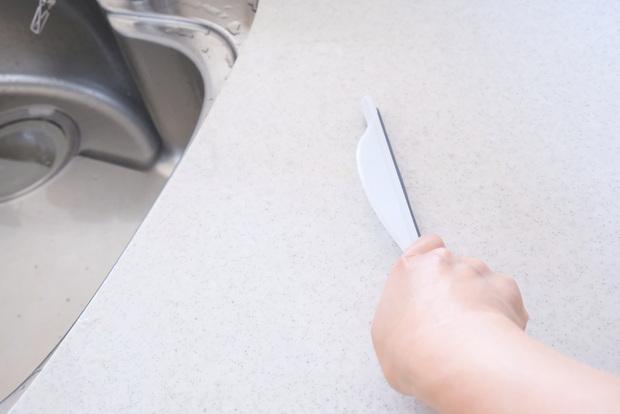 セリア・バススクイージー・キッチン・掃除・作業台・丸洗い①