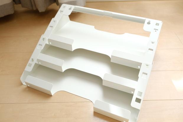 IKEA・KVISSLE クヴィッスレ ウォール 新聞ラック, ホワイト④