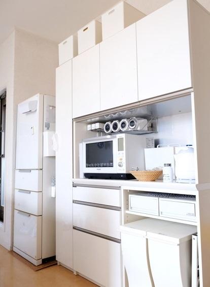 キッチン・パモウナDL・食器棚①