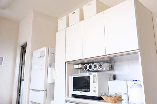 キッチン・パモウナDL・食器棚②