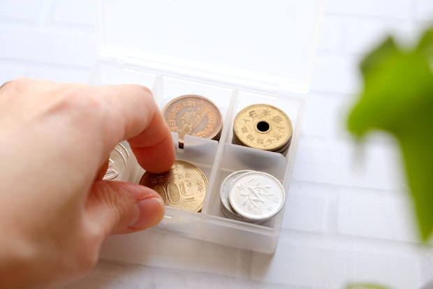 無印・ポリプロピレンピルケース・S・小銭収納①