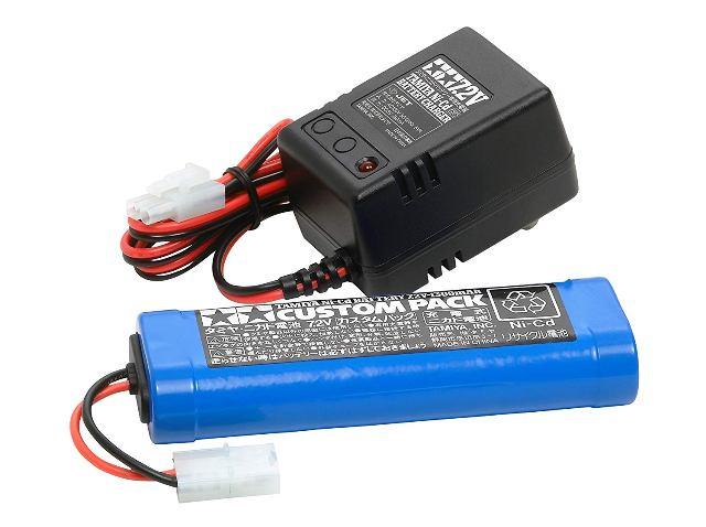 タミヤ 7tenn2Vカスタムパックと充電器セット 55087