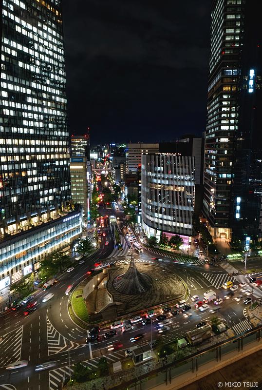 絶景探しの旅 - 1111 スカイストリートの空中夜景 (名古屋市 中村区)
