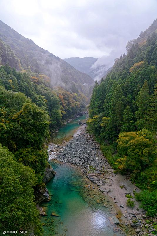 絶景探しの旅 - 1116 秋の祖谷川 (徳島県 三好市 西祖谷山村)