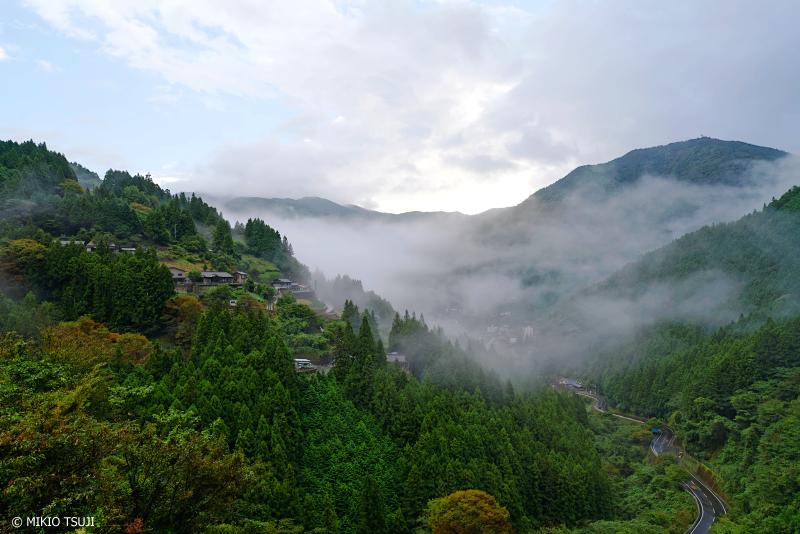 絶景探しの旅 - 1115 雨上がりの山里(徳島県 三好市 西祖谷山村)