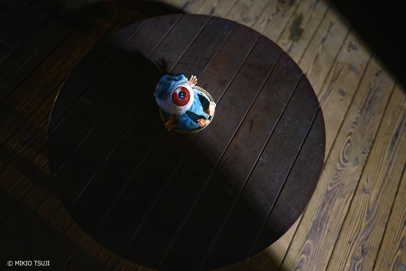 絶景探しの旅 - 絶景Photo No.1239 ちゃぶ台の目玉おやじ (鬼太郎ひろば 東京都 調布市)